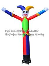 DHL Free Delivery 4M 13FT  Inflatable Tube Sky Air Clown Dancer X1001-4M