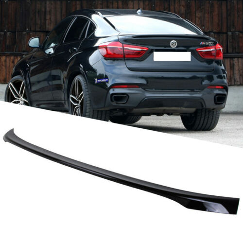 Painted ABS Color BMW F16 F86 X6 5D SUV Performance Trunk BOOT Spoiler