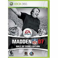 Madden Nfl 07 Hall Of Fame Edition Xbox 360