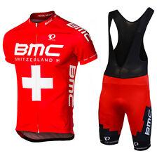 Pro Team Short Sleeve Cycling jersey and bib shorts set MTB quick dry Sportswear