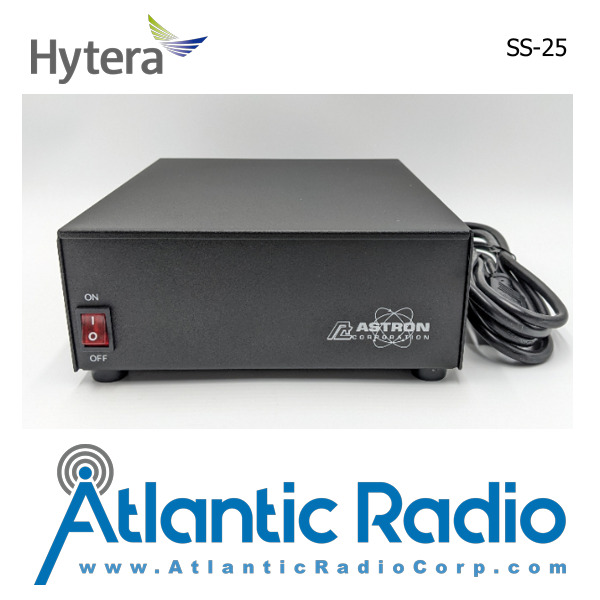 SS-25 atlanticradiocorp-com Astron Corporation Model SS-25 Switching Power Supply Output:13.8VDC