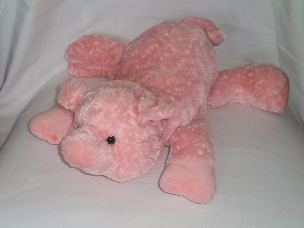 Zielvorgabe 14  plsch schwein schweinchen Rosa ber die 75278 soft - stofftier spielzeug selten