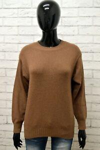 Maglione-STEFANEL-Donna-Taglia-46-Maglia-Cardigan-Pullover-Sweater-Woman-in-Lana