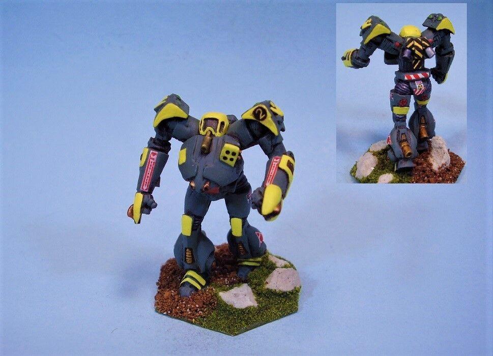 battletech painted miniature Tsunami battlemech YG