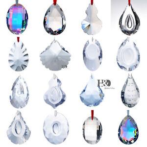Crystal-Glass-Large-Prisms-Chandelier-Parts-Suncatcher-Rainbow-Maker-Ornament
