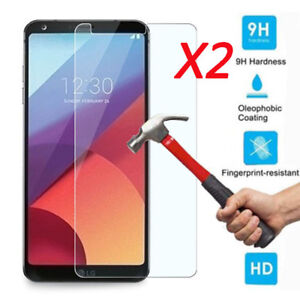 2Pcs-9H-Clear-Premium-Tempered-Glass-Screen-Protector-Film-Guard-For-LG-G6-2017
