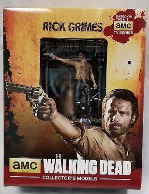 "Rick Grimes Eaglemoss The Walking Dead Collector/'s Models 3/"" Figure #1 NEW"