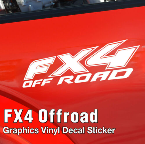 FX4 Offroad Truck Bedside Graphics Vinyl Decals Sticker For FORD F250 F350 F450