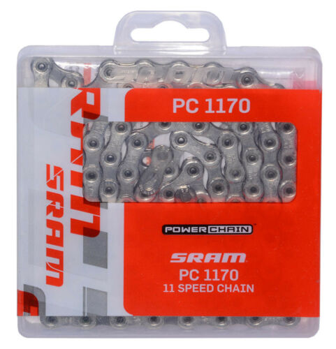 SRAM PC-1170 11-Speed Hollow-Pin Road Bike Chain fit CX1 RED 22 Force 22 Shimano