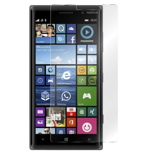 Nokia Lumia 830 de vidrio contra lámina de vidrio real templado tanques lámina lámina de protección 9h