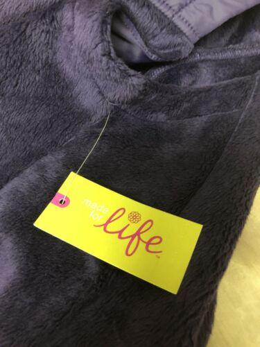 Fleece Zip 'Dark Purple Vest Jc Fra Penney Ladies qAapwTxSw