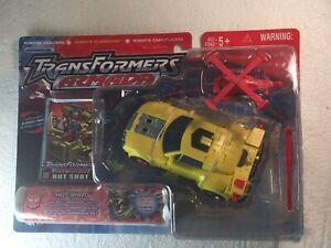 Transformers Armada HOT SHOT With Jolt Mini-con MOSC 2003