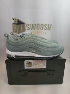 a815384d613 Details about Nike Air Max 97 SE Corduroy Womens AQ4137-300 Mica Green  Running Shoes Size 10.5