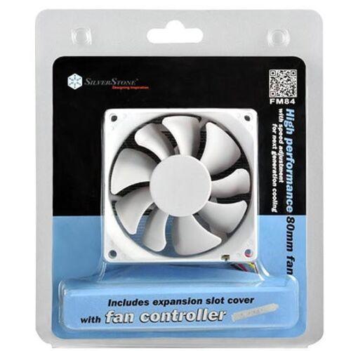 Silverstone FM84 White Case Fan