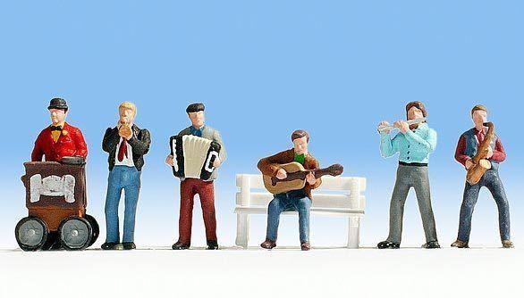 Figurines Noch N (36563): Street Musicians