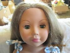 "Madame Alexander 18"" 2003 Doll W/ Light Brown Hair ~Green Eyes"