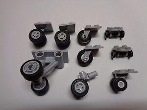 Lego Bakstenen, bouwstenen 2496 Lego ® Roue Roulette Avion Chariot 2x2 Airplane wheels Choose Color 2655