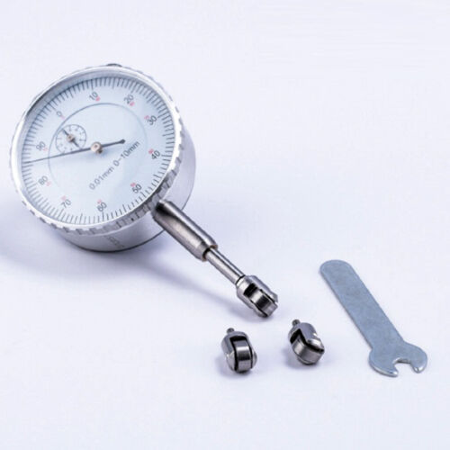 2 Count Bike Rim Gauge Dial Indicator Roller Contact Point Head Part Component