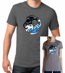HOW-TO-TRAIN-YOUR-DRAGON-inspired-TOOTHLESS-LIGHT-FURY-NIGHTFURY-YINGYANG-Tshirt