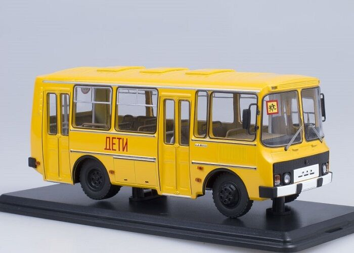 Start scale models  SSM  1/43. paz-32051 School BUS.