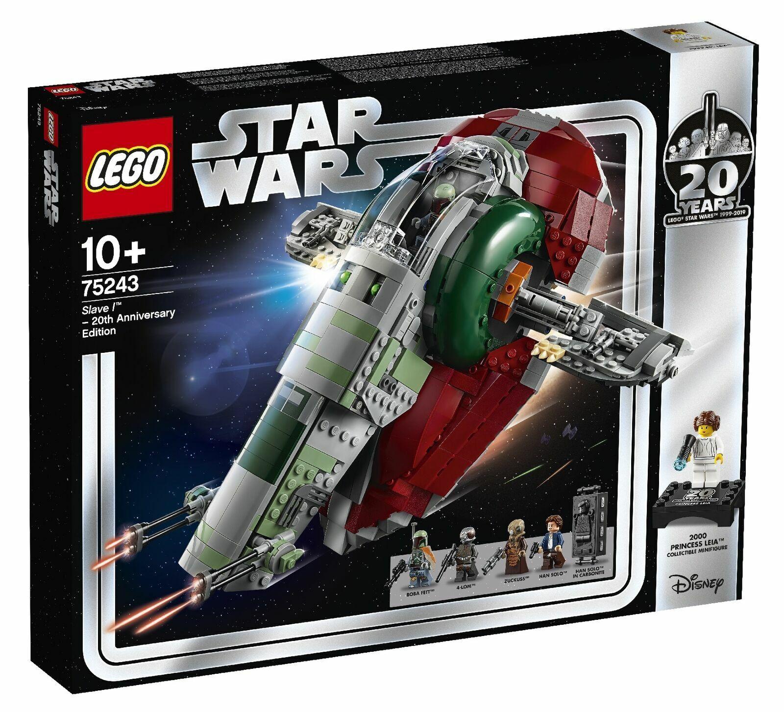 vendita di fama mondiale online LEGO 75243 NIB Sealed Sealed Sealed Estrella Guerras Slave l 20th Anniversary edizione  80% di sconto