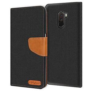 Handy-Huelle-fuer-Xiaomi-Pocophone-F1-Tasche-Wallet-Flip-Case-Schutz-Huelle-Cover
