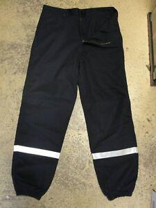 Pantalon-Sapeurs-Pompiers-securite-incendie-t-80L-40-NEUF-Kermel-spf1-f1