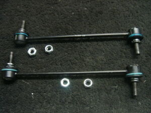 PEUGEOT 307 02-09 FRONT ANTI ROLL BAR DROP LINKS STABALISER LINK X2 PAIR NEW