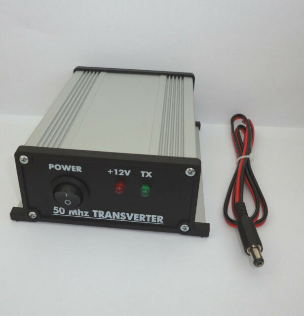 50 to 28 MHz ASSEMBLED TRANSVERTER 6meters 6m 50mhz 54mhz VHF UHF Ham Radio