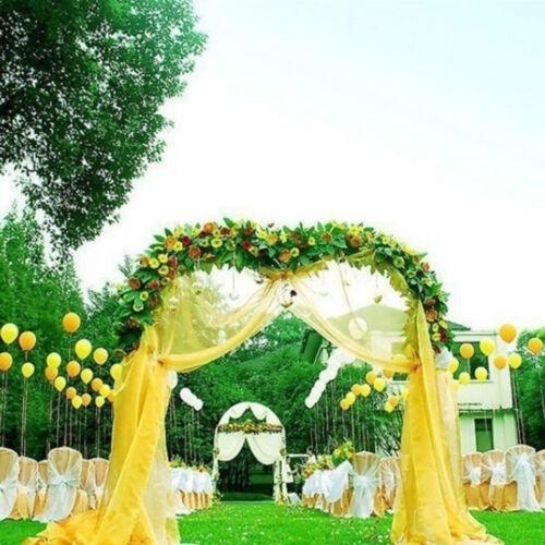 The 500CM*48CM Organza Sheer Organza Fabric For Wedding Backdrop Decoration