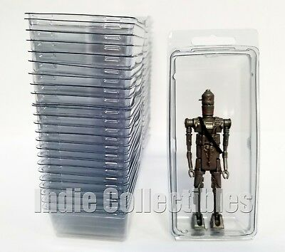 STAR WARS BLISTER CASE LOT 50 Action Figure Display Protective Clamshell LARGE