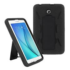 Black for Samsung Galaxy Tab A 8.0 SM-T350 T355 Defender Box Hybird Case w/Stand