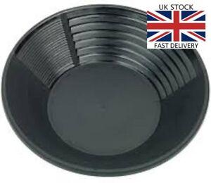 """Gold Pan Washing Tool Rush Sifting Classifier  Pan 12"""" Inch Pan UK Good Quality"""