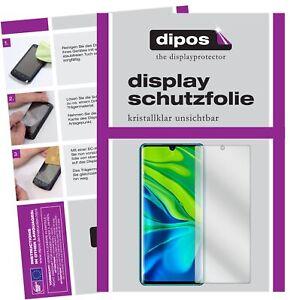 5x-Protector-de-Pantalla-para-Xiaomi-Mi-Note-10-protectores-transparente-dipos