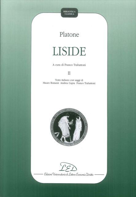 Platone. Liside. II - [LED]