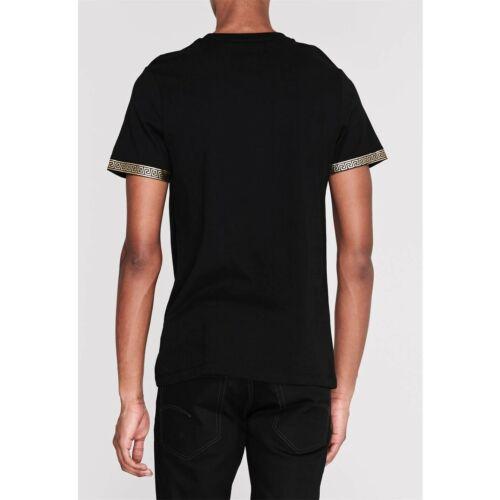 Criminal Damage homme Or Cercle Noir T Shirt
