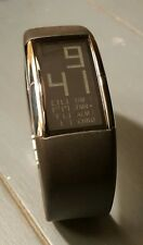 L@@K Rare Philippe Starck Fossil Alarm Chronograph Digital Watch PH-1028 NICE!