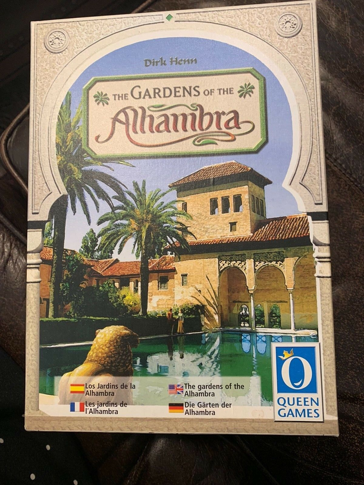 Gardens of the Alhambra Board Game COMPLETE