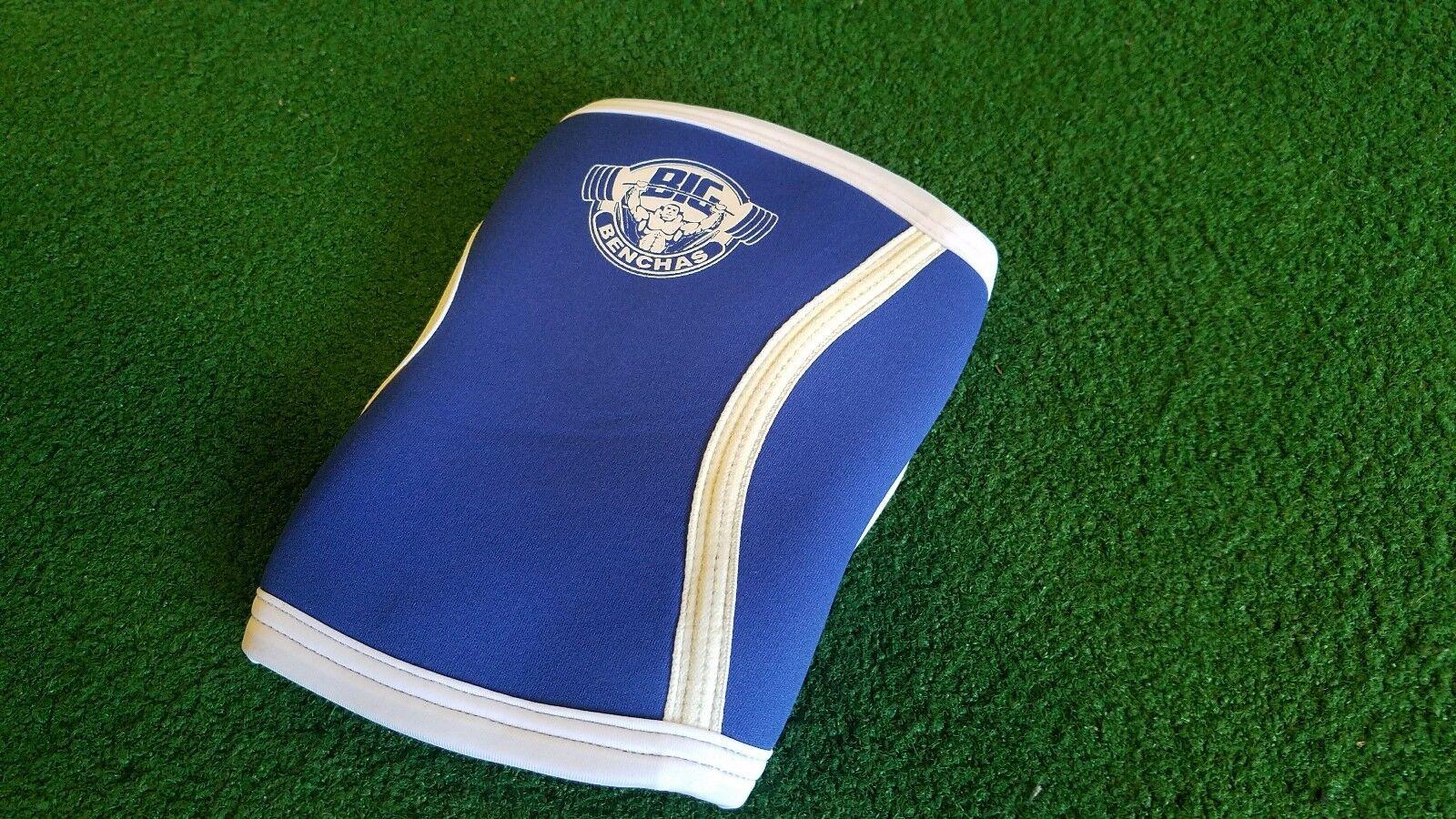 Big Benchas bluee Powerlifting Elbow Sleeves S - 3XL