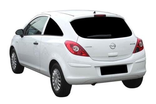 AUTO protezione solare vetri-TINTA-Toni PRIVACY OPEL CORSA D 3-porte