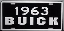 1963 BUICK METAL LICENSE PLATE RIVIERA ESTATE WAGON ELECTRA LESABRE  INVICTA