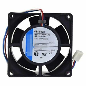 For-ebmpapst-8314-2H-80-80-32mm-24V-6W-3pin-Ball-Bearing-cooling-fan
