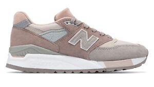 New-Balance-Women-039-s-998-Made-in-USA-Lifestyle-Shoe-W998AWA-Grey-with-White