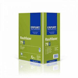 6-x-Erfurt-Rauhfaser-79-Exclusiv-weiss-Rauhfasertapete-Erfurter-Tapete-Raufaser