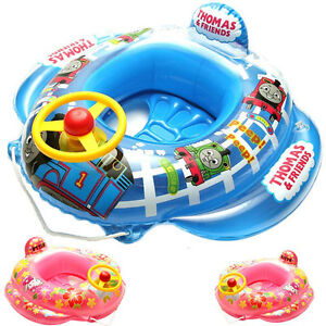 Details about Thomas Train Baby Kids Toddler Swimming Pool Boat Ring Raft  Float Tube Seat Aid