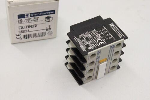 TELEMECANIQUE LA1DN22 110A 660V 2P 2NC 2NO Hilfsschalterblock NEU