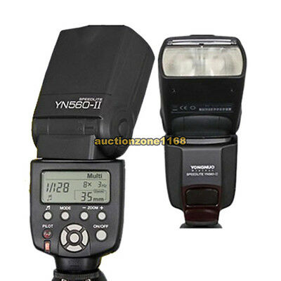 Yongnuo YN-560 II Flash Speedlite w LCD Screen For Canon 580EX II 430EX II