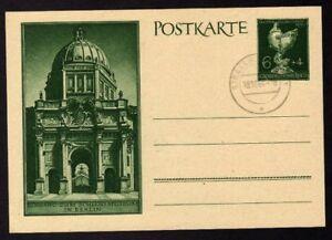 Ganzsache-EINGANG-ZUM-SCHLOSS-MUSEUM-in-BERLIN-Entier-Postal-Deutschland-NEUF