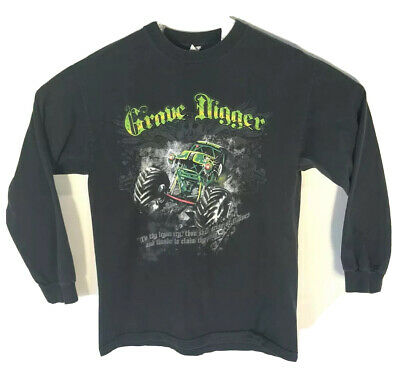 Rare Vintage Grave Digger Dennis Anderson Large Graphic Small Shirt Reprint New