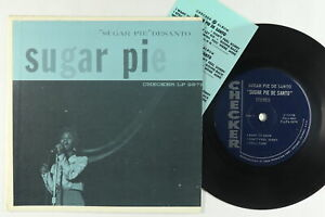 Jukebox Hard Cover EP - Sugar Pie Desanto - S/T EP - Checker - 7-LPS-2979